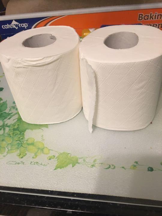 Toilet rolls x2