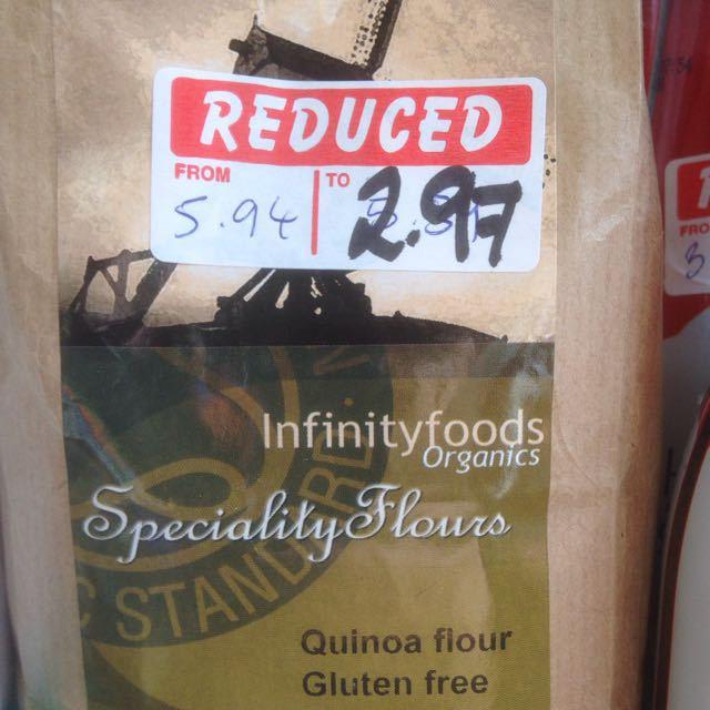 Organic Quinoa Flour Half Price