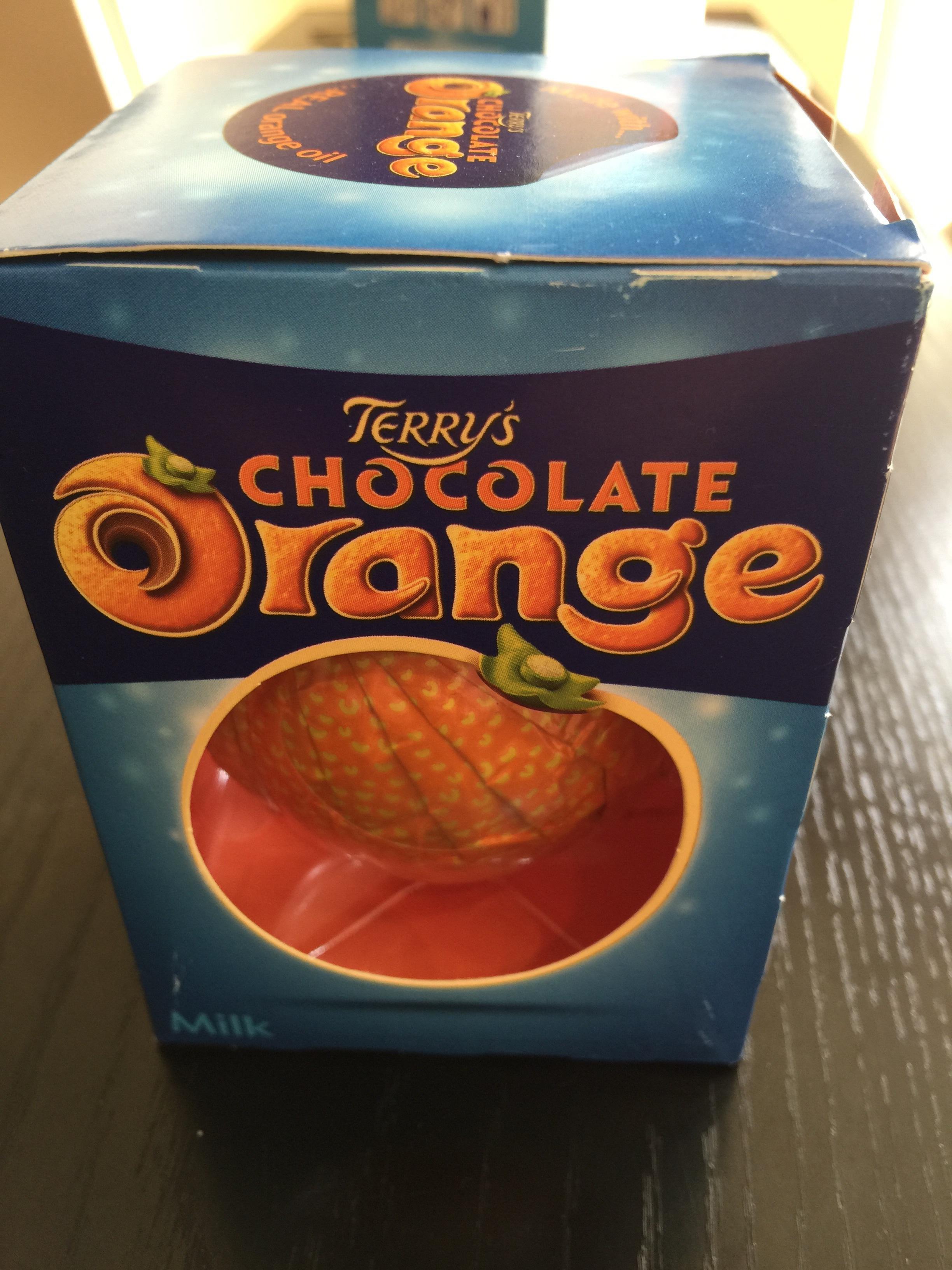 Chocolate orange, unopened