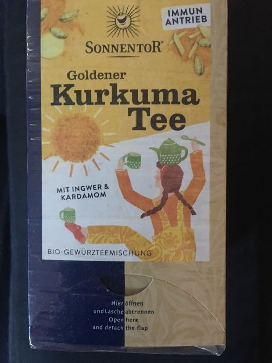 Kurkuma tea bags
