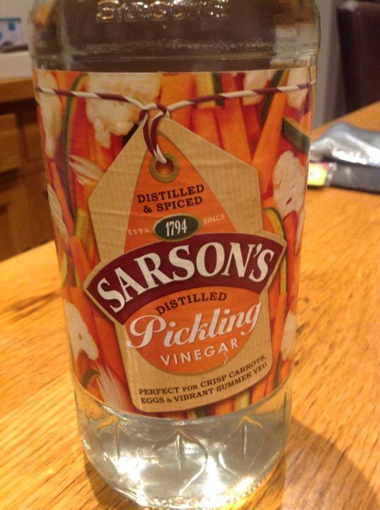 1.14 litres Sarsons Pickling Vinegar