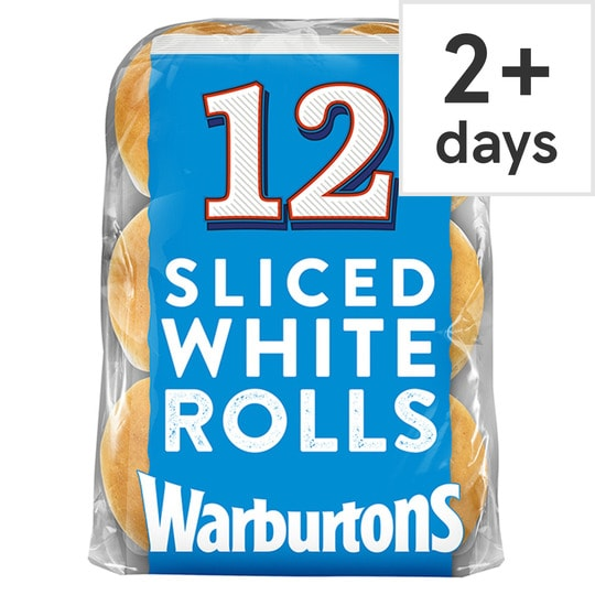 Warburtons white rolls