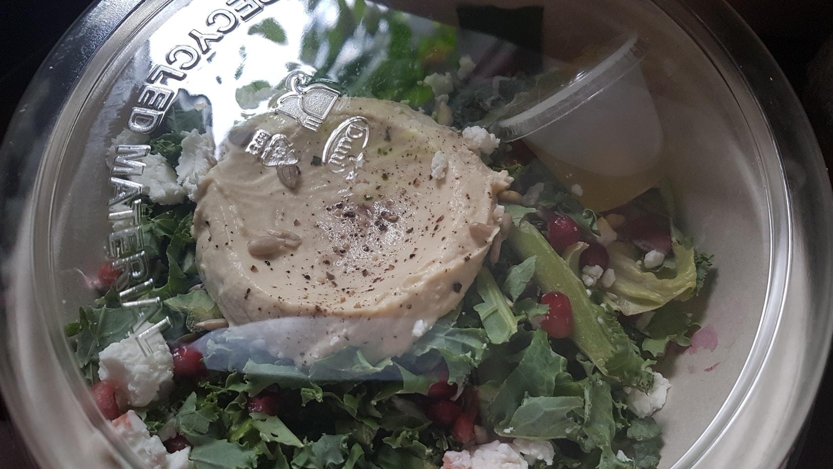 Humus salad