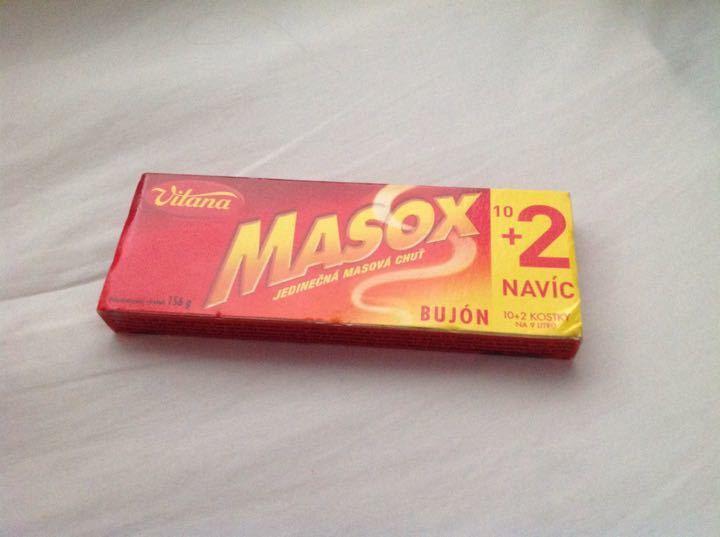 Vitana Masox Beef Stock Cubes