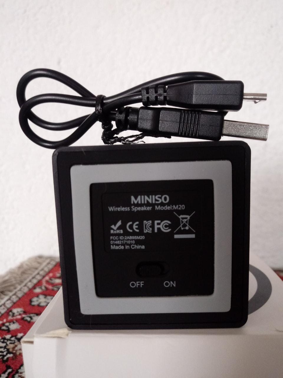 Wireless speaker/ Mini bocina