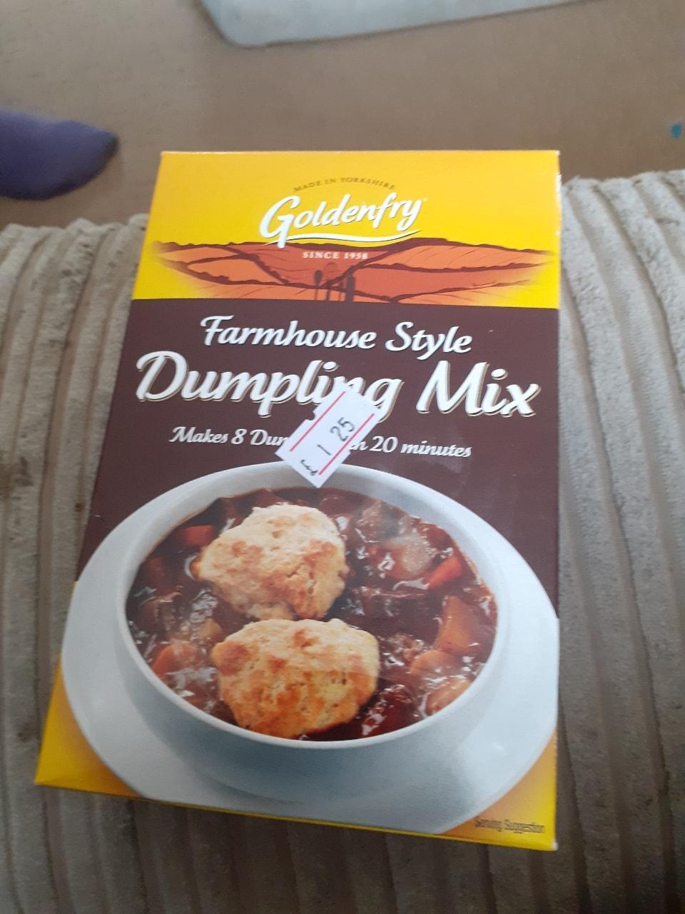 Dumpling mix- free