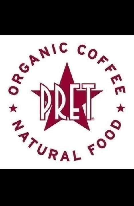 Collecting from Pret A Manger this evening.
