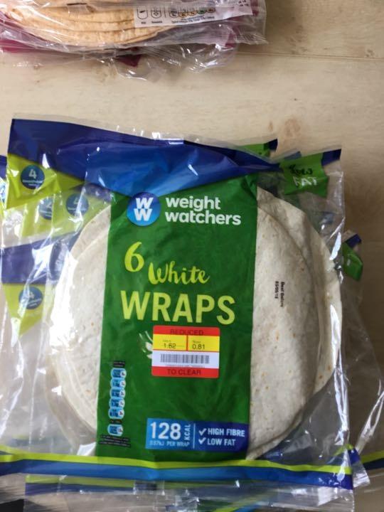 White wraps
