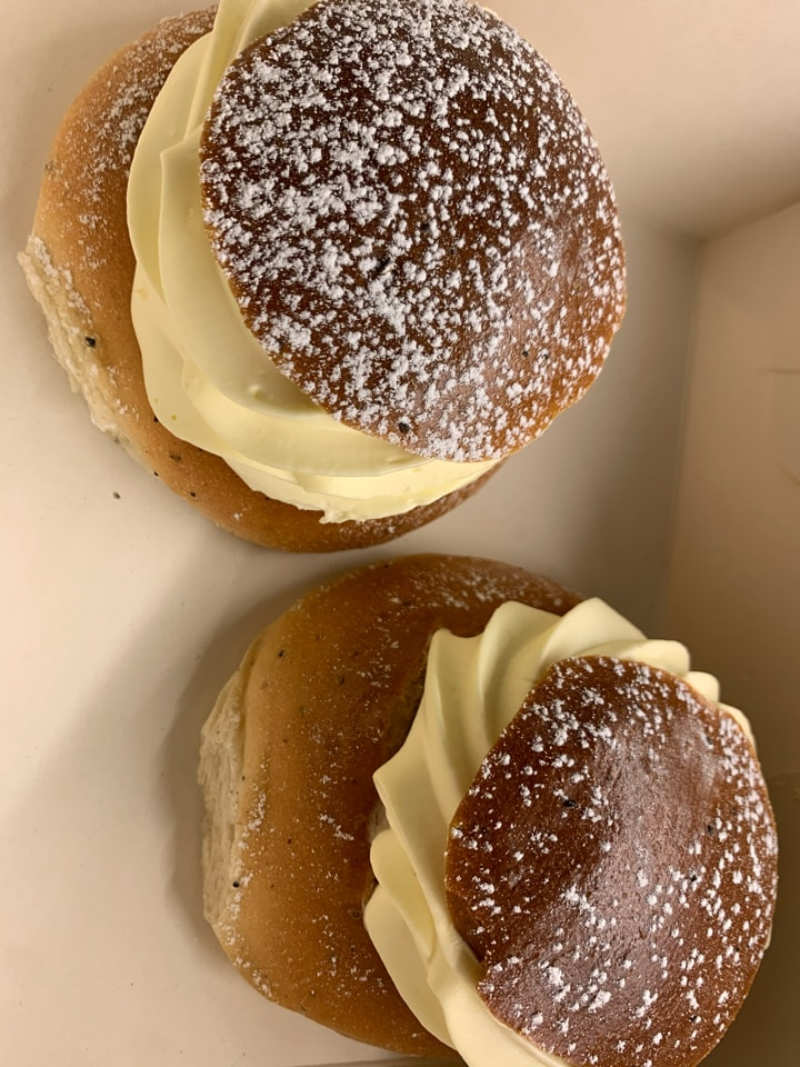 Semla from Brunkebergs bageri