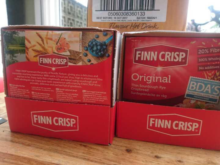 Finn Crisp breads (like ryvita)