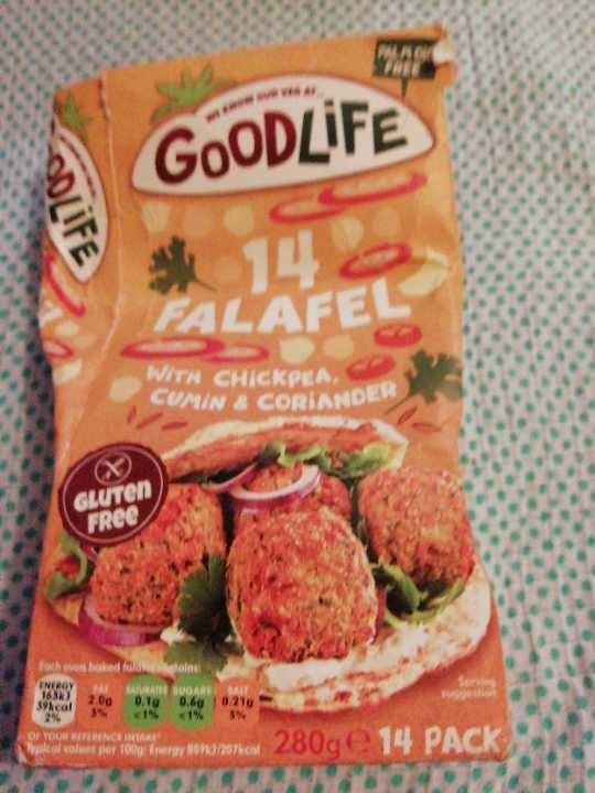 Goodlife frozen falafel