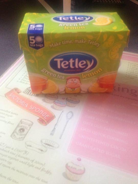 Tetley green tea lemon