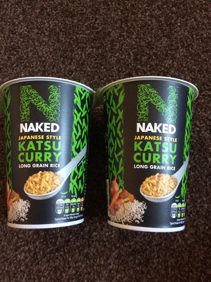 Naked Katsu Curry Rice Pots