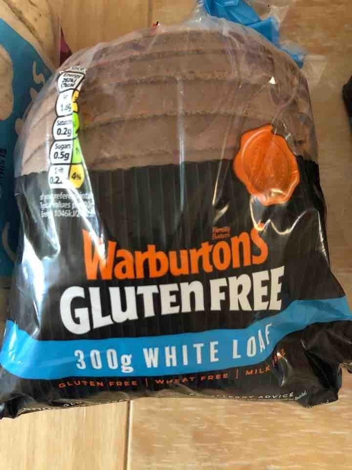 Warbutons gluten free white