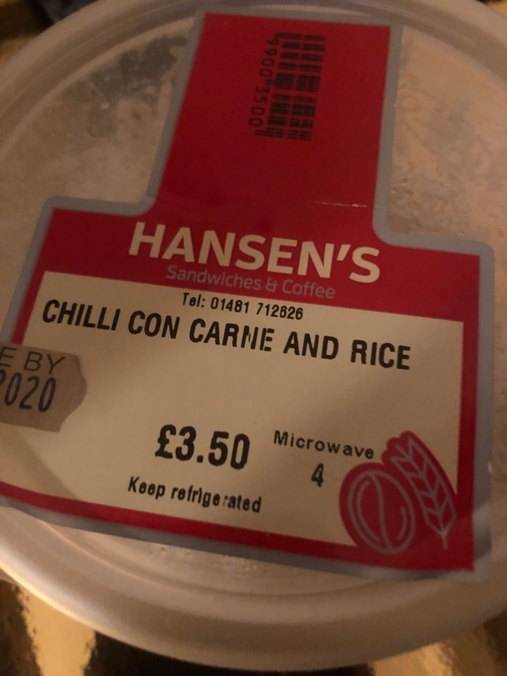 Chilli and rice