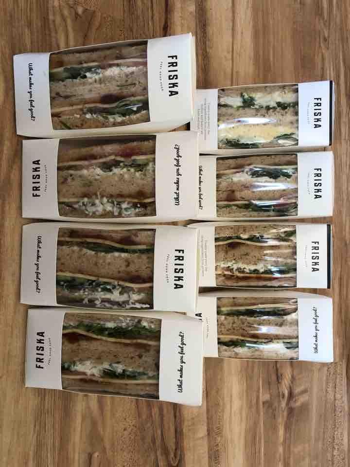 FRISKA - veggie sandwiches