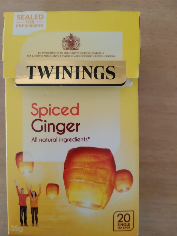 Twinings spiced ginger tea
