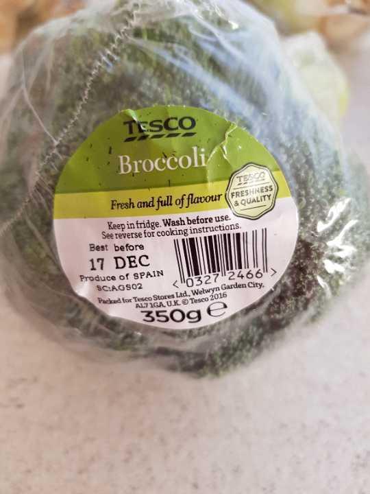 Single broccoli