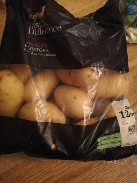 Open bag Vivaldi Potatoes