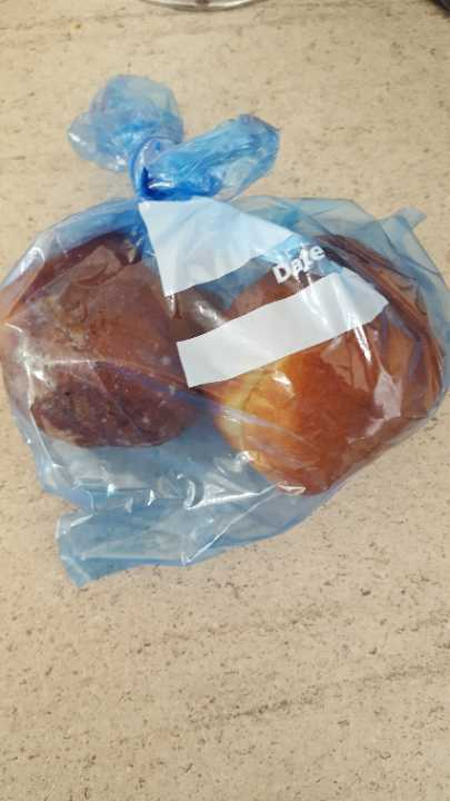 Small plum doughnuts
