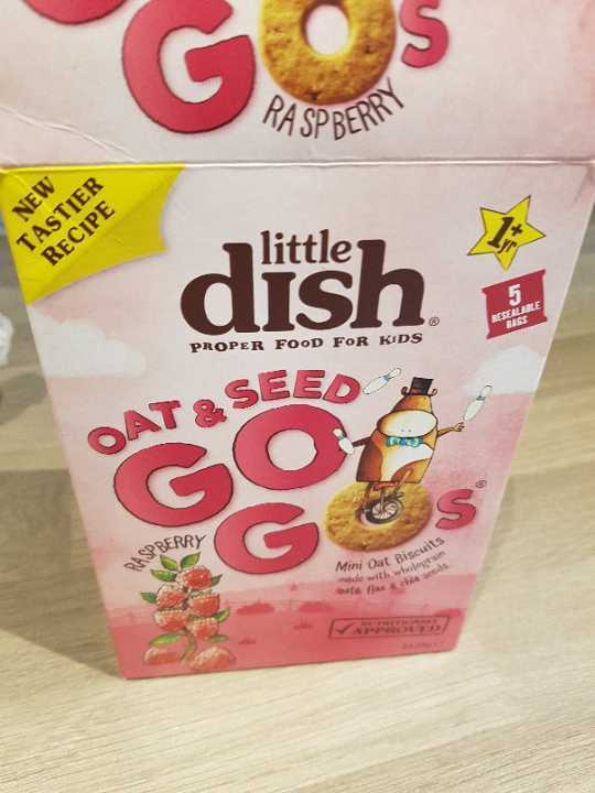 Little Dish Oat And Seed Go Gos (mini kids biscuits)