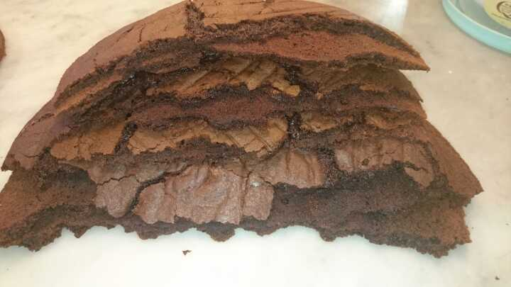 Chocolate Cake scraps Angel Food Bakery