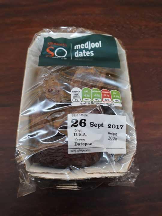 Medjool dates organic
