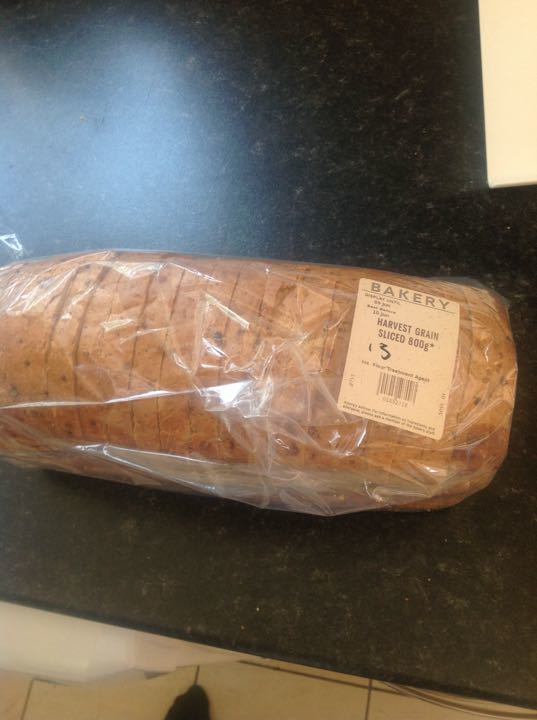 Harvest sliced bread 800g