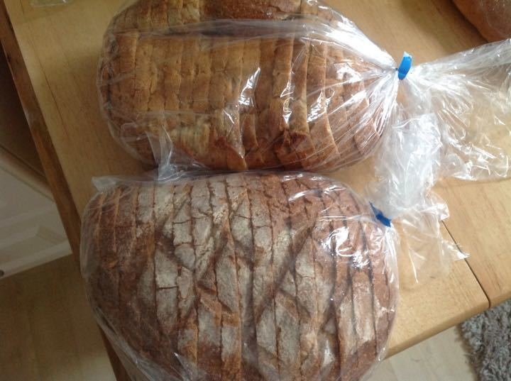 Delicious sourdough bread from Dandy