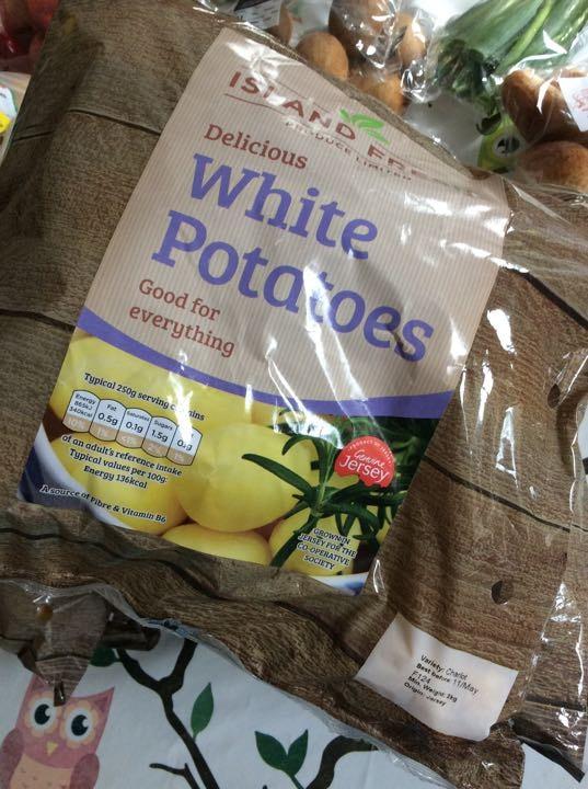 White Potatoes X 2