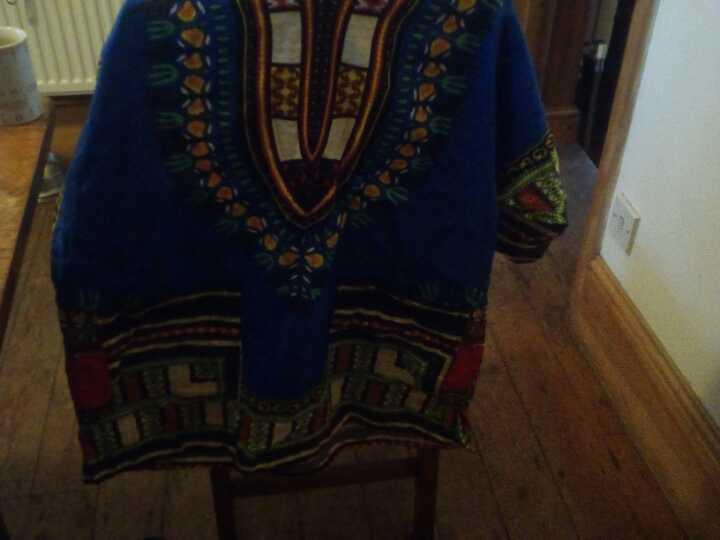 Cotton African shirt v large