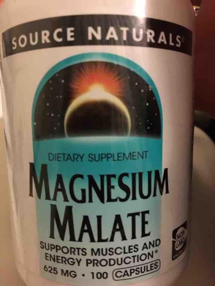 Magnesium malate supplement