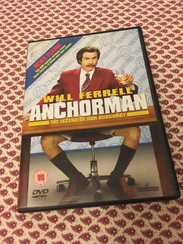 Anchorman DVD
