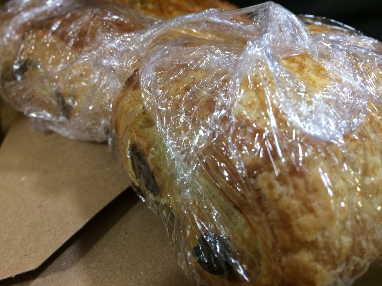 Fresh pastry from Caffe Nero 12/9