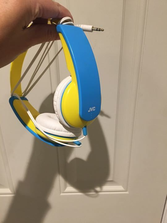 JVC kids headphones - dodgy connection