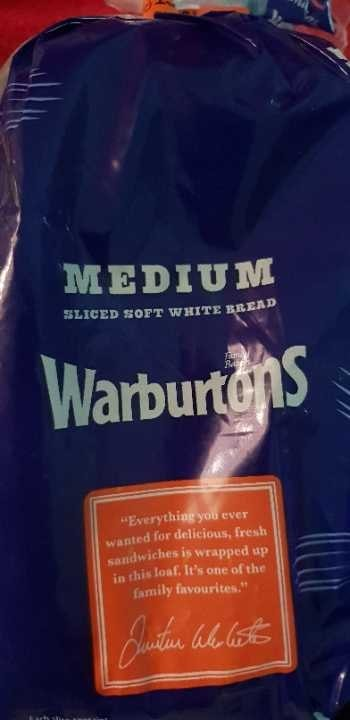 Warburtons medium white