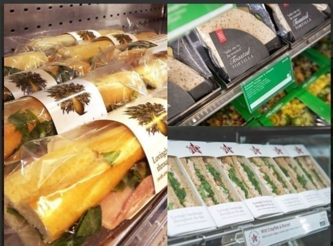 1x Bag of 7 Pret A Manger items