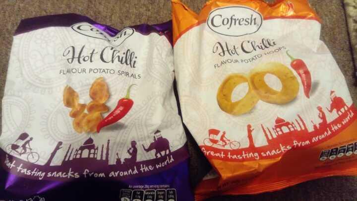 Cofresh potato crisp things