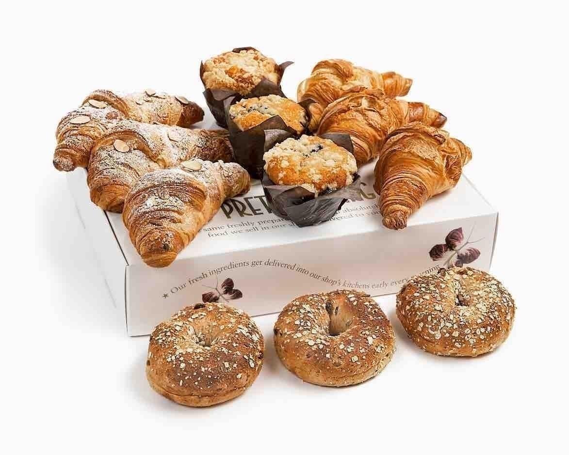 Pret Pastries 🥐🍪🧁