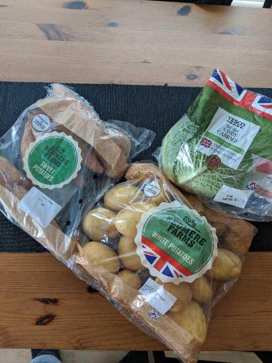 Potatoes & Cabbage