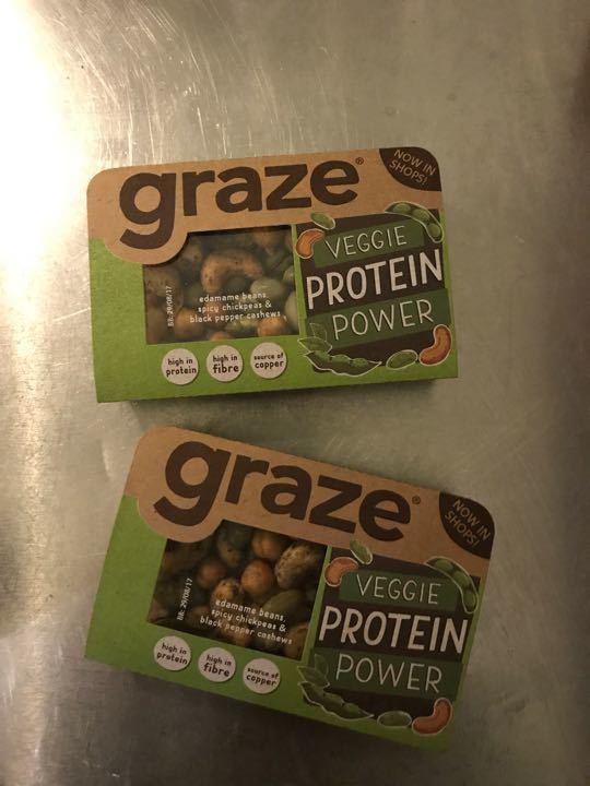 Graze protein boxes