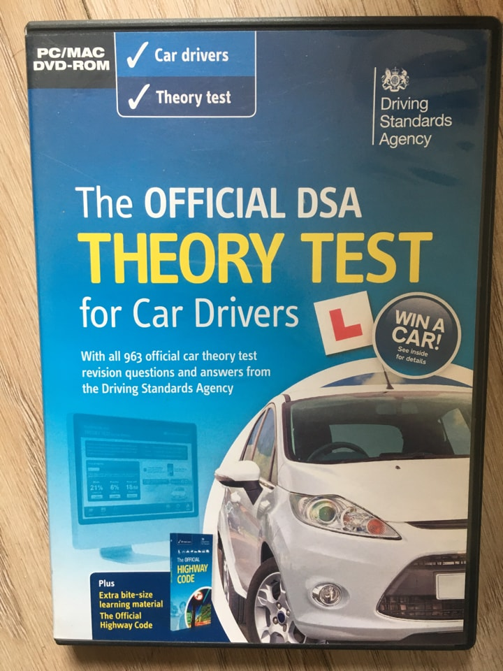 Theory test for car drivers DVD 🚗 📀