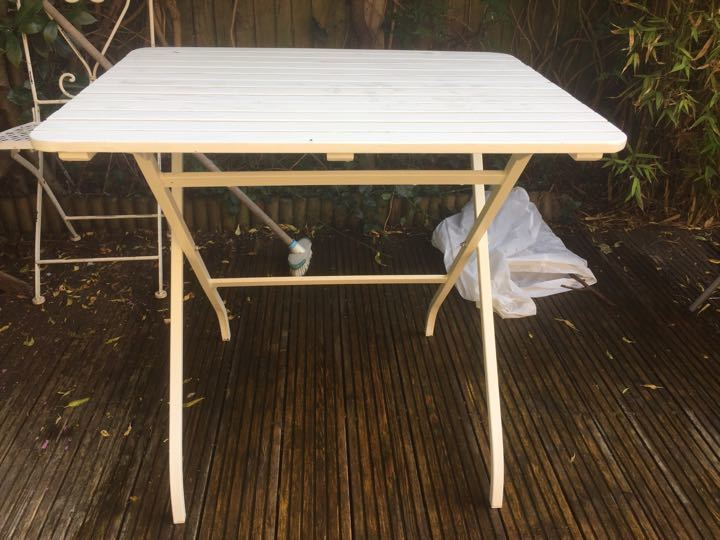 Ikea folding garden table