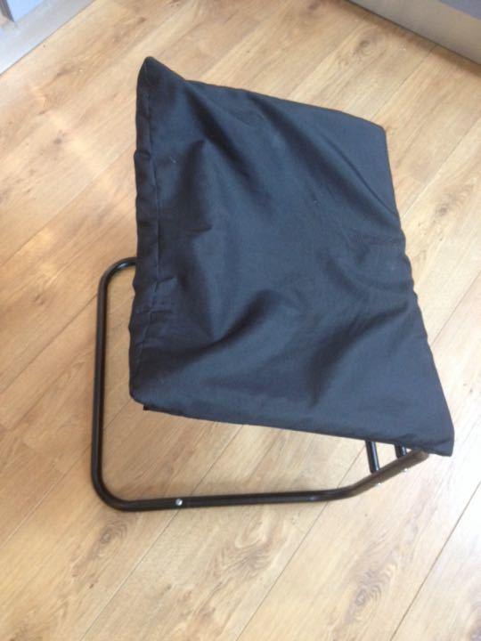 Black foot stool
