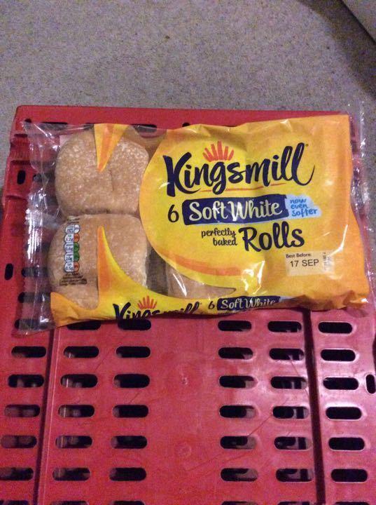 Kingsmill rolls