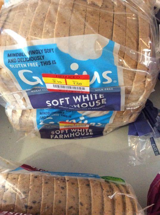 Gluten Free soft white farmhouse