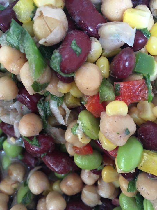 Bean salad from Moo