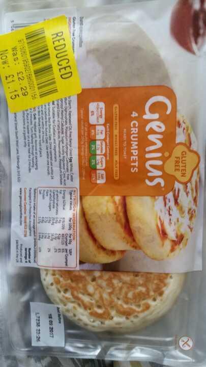 Genius GF crumpets
