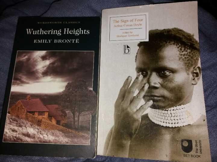 Wuthering Heights and Sherlock Holmes: The Sign of Four