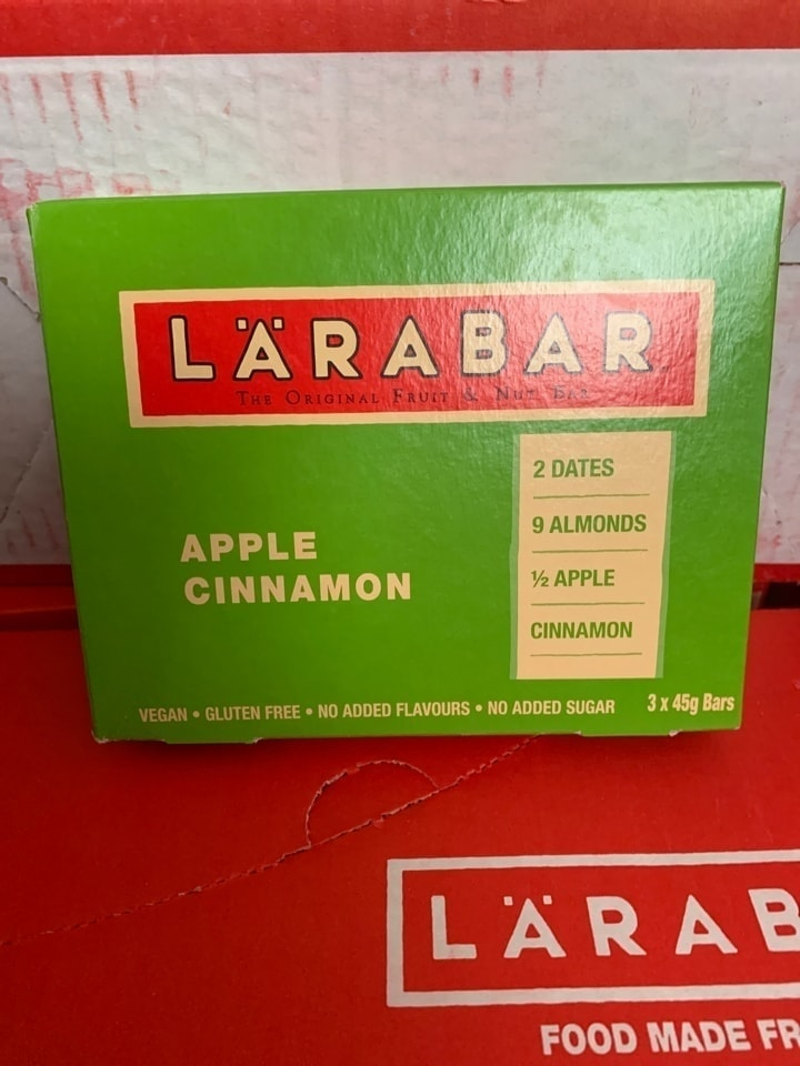 LARABAR Apple and cinnamon bars